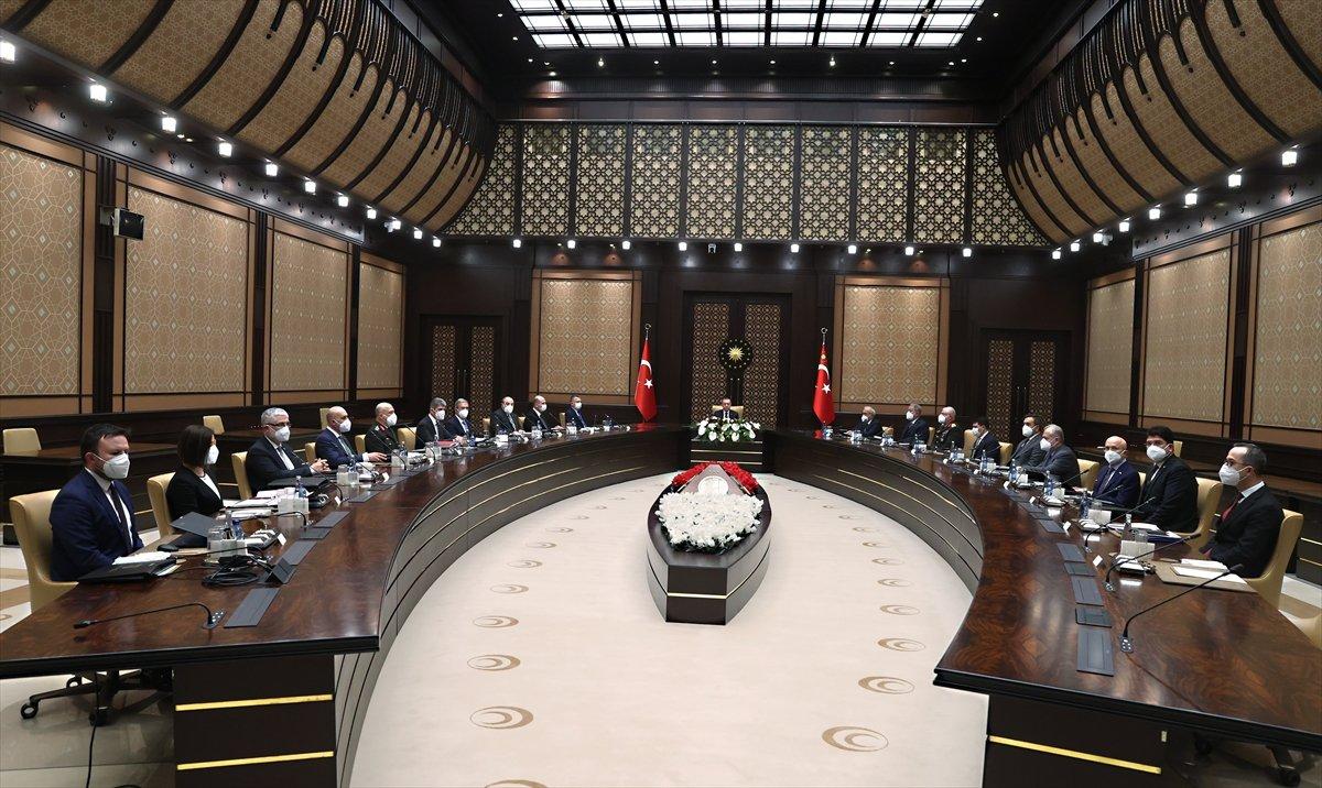 Cumhurbaşkanlığı Külliyesi nde Savunma Sanayii İcra Komitesi toplantısı #1