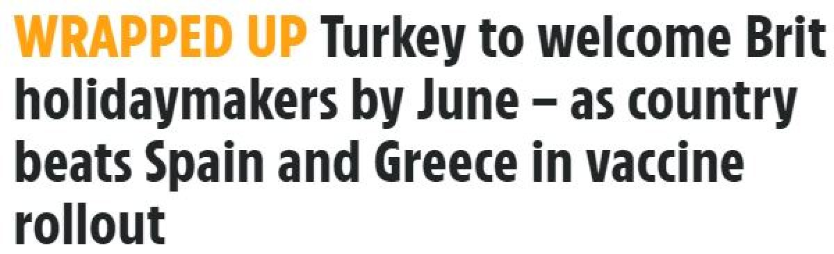 İngiliz basını: Türkiye, İngiltere den turistleri ağırlamaya hazırlanıyor #3