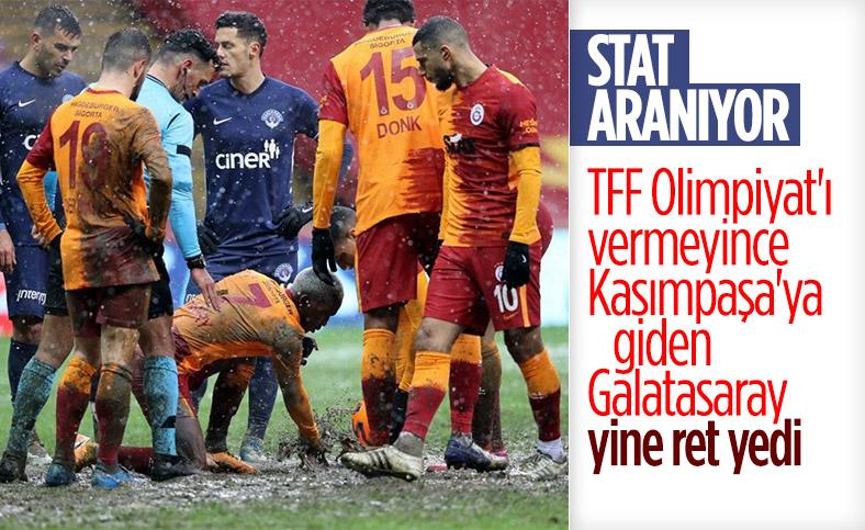 Galatasaray'a, Kasımpaşa da stadını vermedi