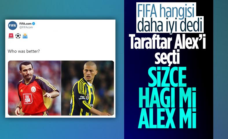 FIFA'nın oylamasını Alex kazandı
