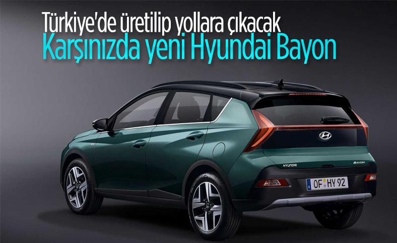 Türkiye'de üretilen yeni Hyundai Bayon tanıtıldı: İşte özellikleri