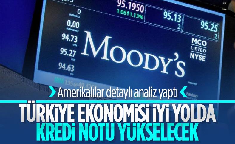 Moody's: Türkiye'deki politika değişikliği net bir pozitif kredi unsuru