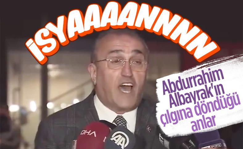 Abdurrahim Albayrak: Yeter ya adalet istiyoruz