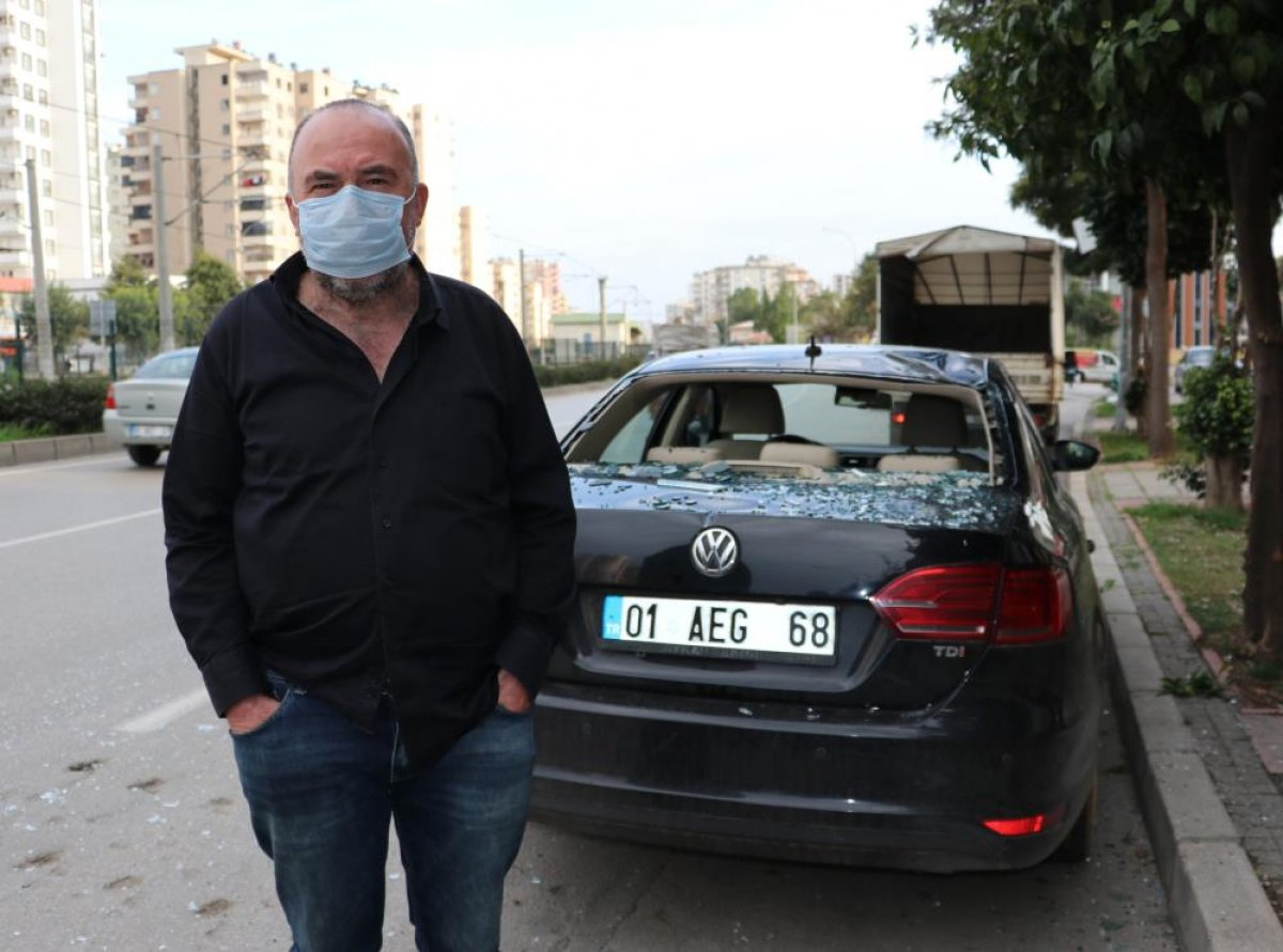 Adana'da bomba gibi patlayan şofbenden dakikalarla kurtuldu #3