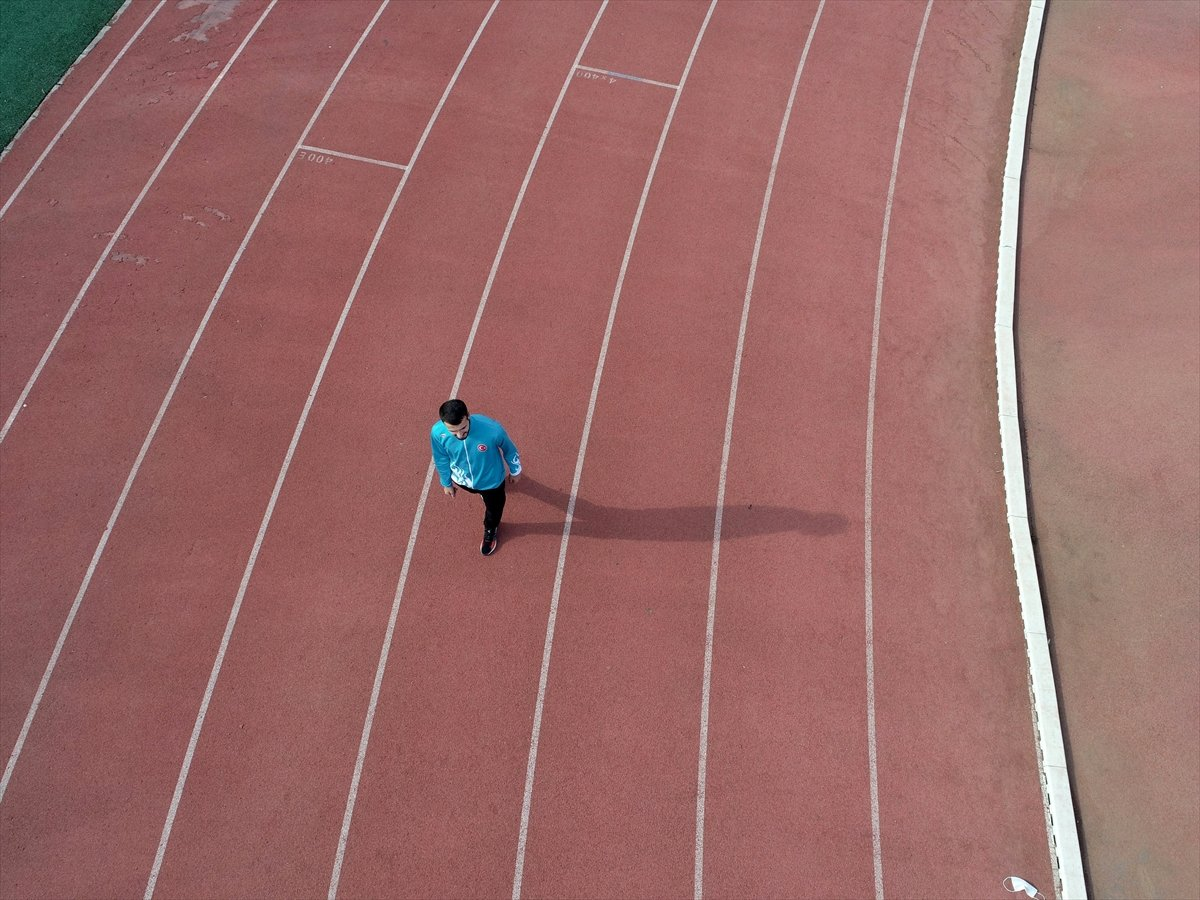 Milli atlet Bedirhan Alpagu Nun hedefi dünya şampiyonluğu #8