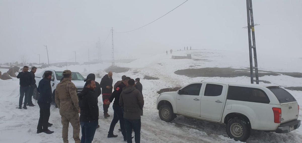 Bitlis te askeri helikopter düştü #1