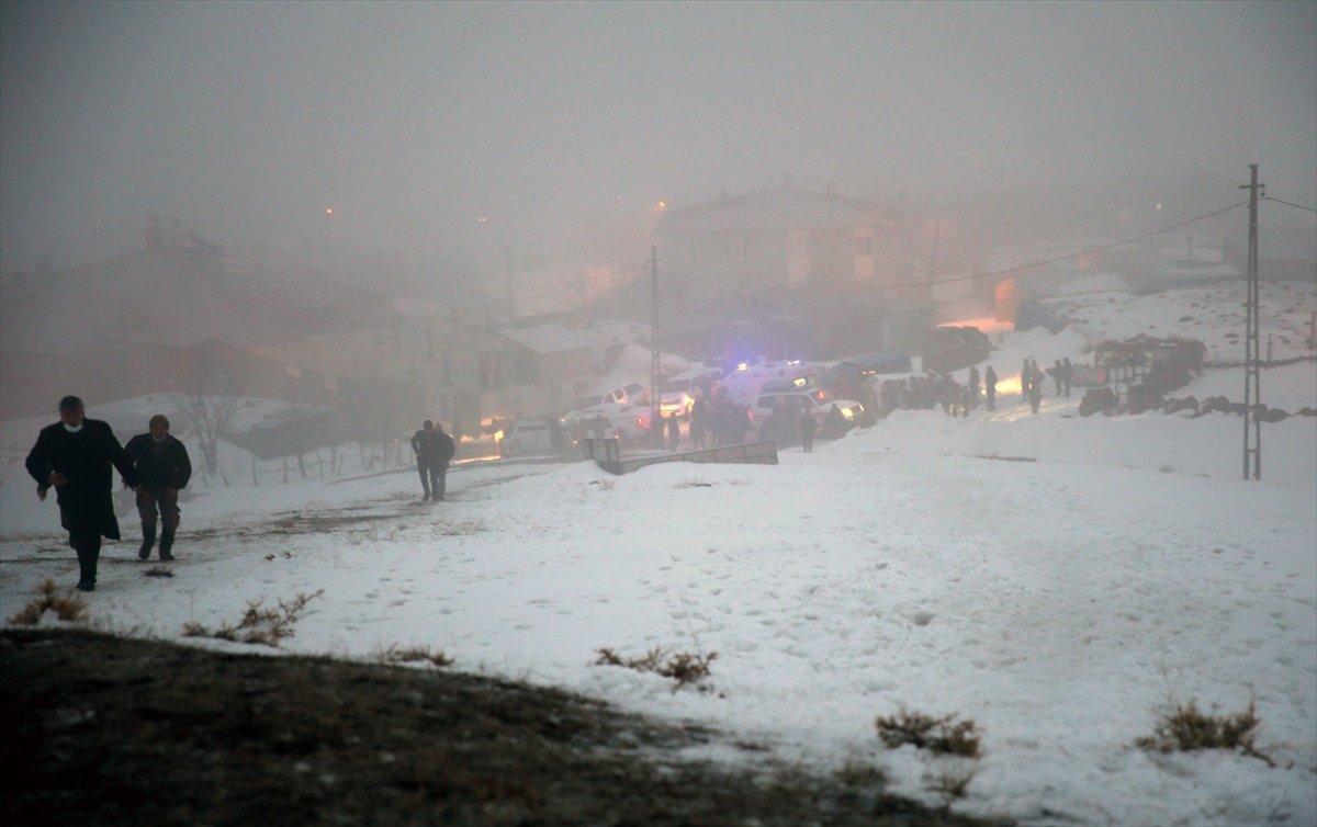 Bitlis te askeri helikopter düştü #7