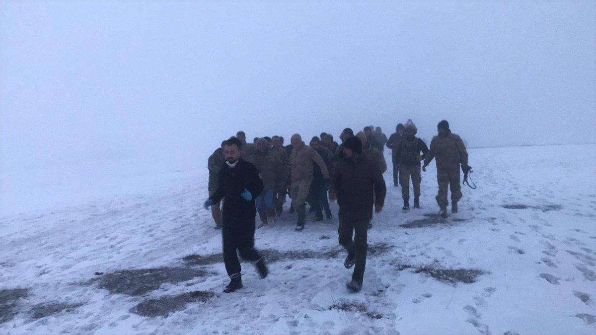 Bitlis'te askeri helikopter düştü 10 Şehit 3 yaralı
