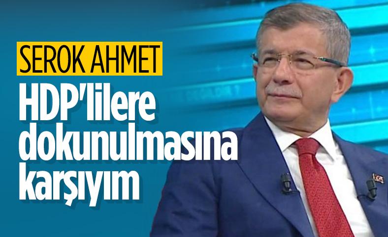 Ahmet Davutoğlu'ndan fezleke yorumu