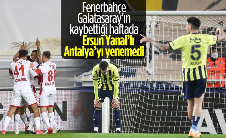 Fenerbahçe, Kadıköy'de yine kazanamadı