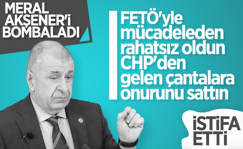 Ümit Özdağ'dan Meral Akşener'e sert sözler