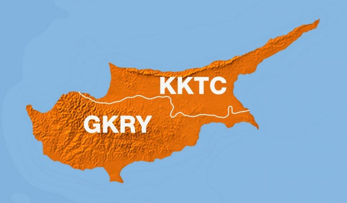 GKRY den provokasyon: KKTC tarafında askeri birliğe ikmal konvoyunu engellediler #1