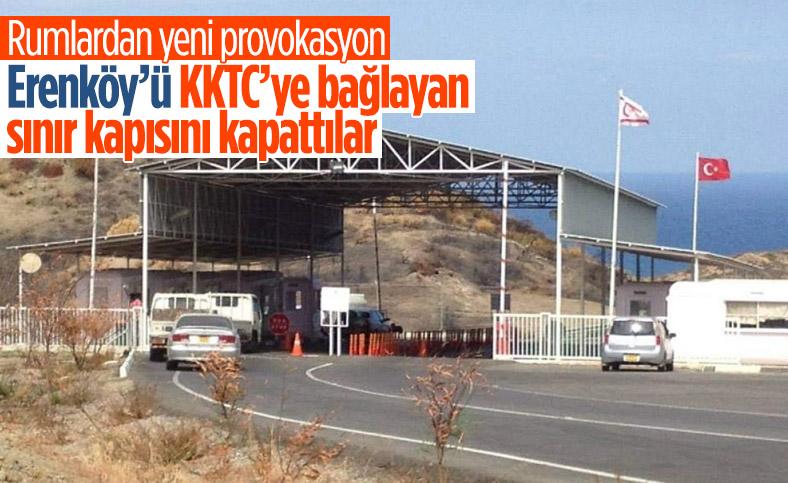 GKRY'den provokasyon: KKTC tarafında askeri birliğe ikmal konvoyunu engellediler