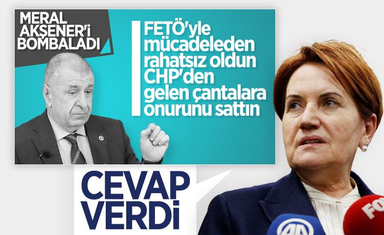 Meral Akşener'e Ümit Özdağ'ın istifası soruldu