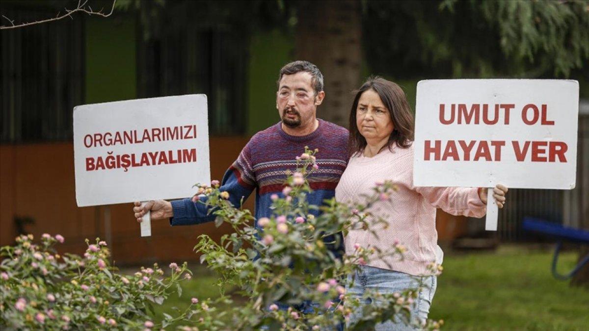 İzmir de organ nakliyle tanışan çift, 6 yıldır mutluluğu yaşıyor #1