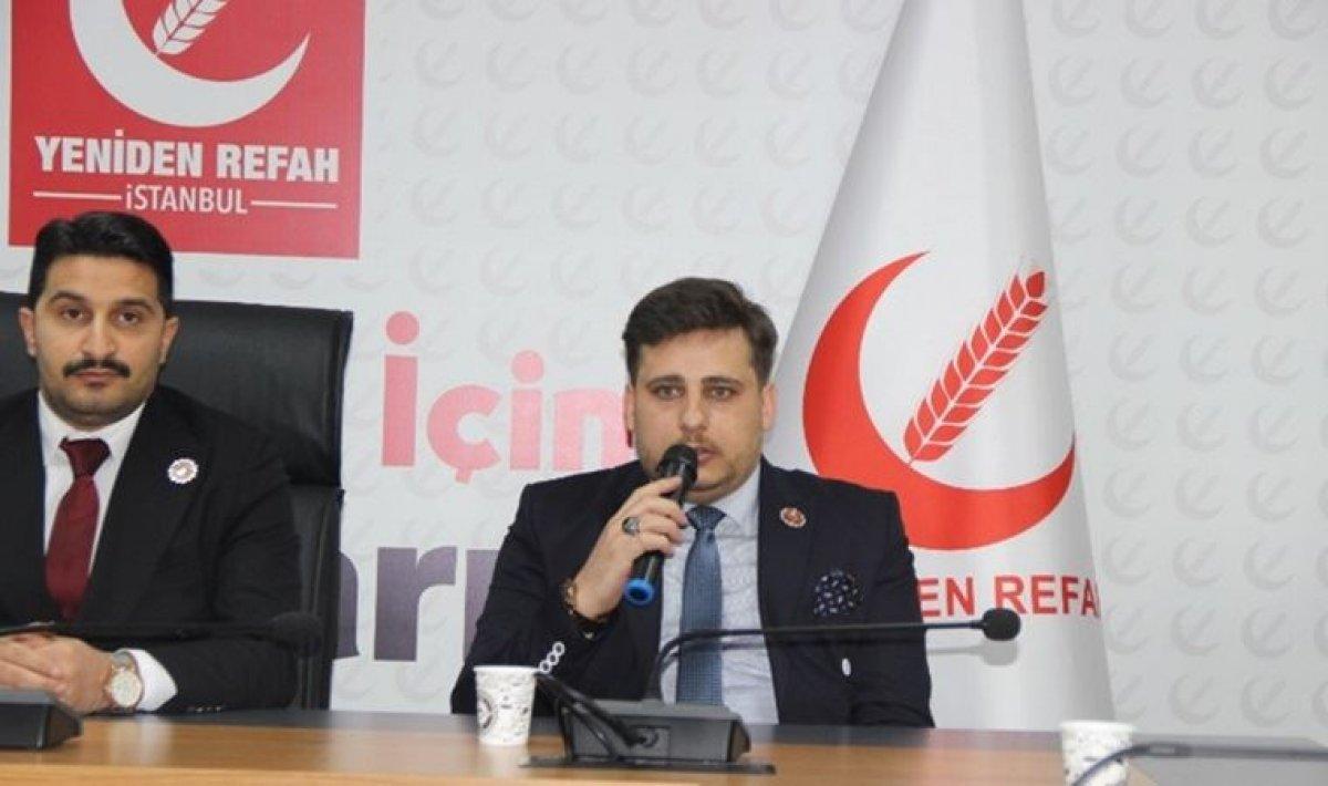 Yeniden Refah Partisi: Sadık Tunç Disiplin Kurulu na sevk edildi #1