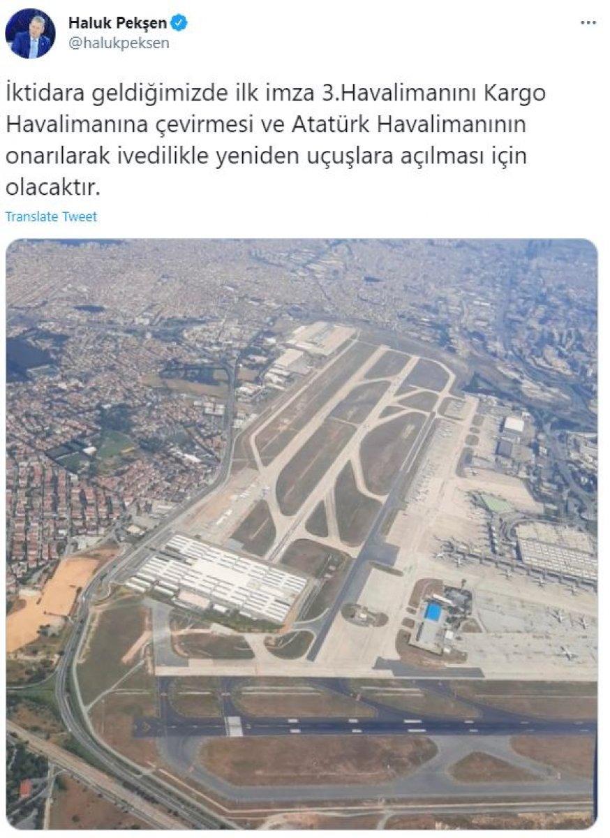 CHP nin iktidar hayali: İstanbul Havalimanı nı kapatmak #3