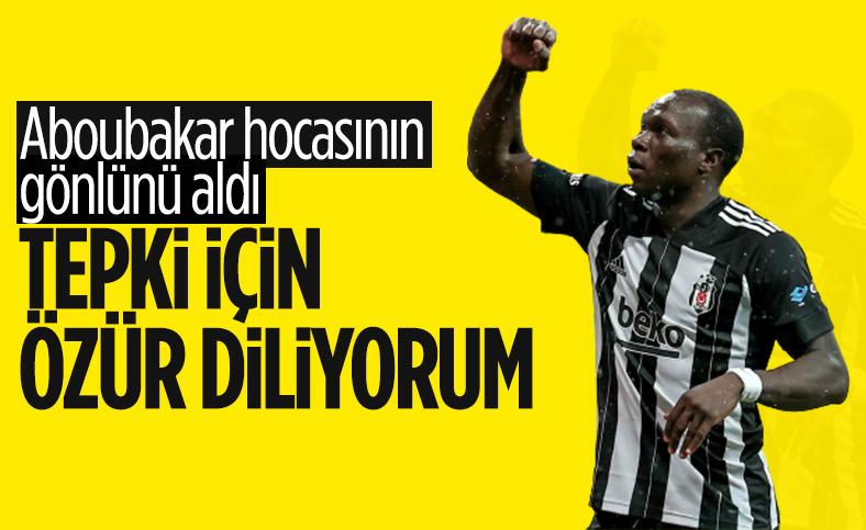 Aboubakar: Hocamdan ve takım arkadaşlarımdan özür diliyorum