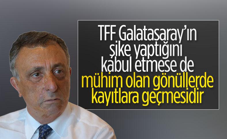 Ahmet Nur Çebi: Beşiktaş'ın hakkı yenmiştir