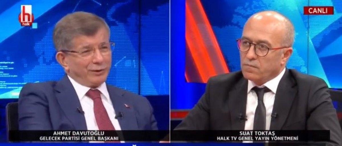 Ahmet Davutoğlu: HDP kapatılmamalı #1