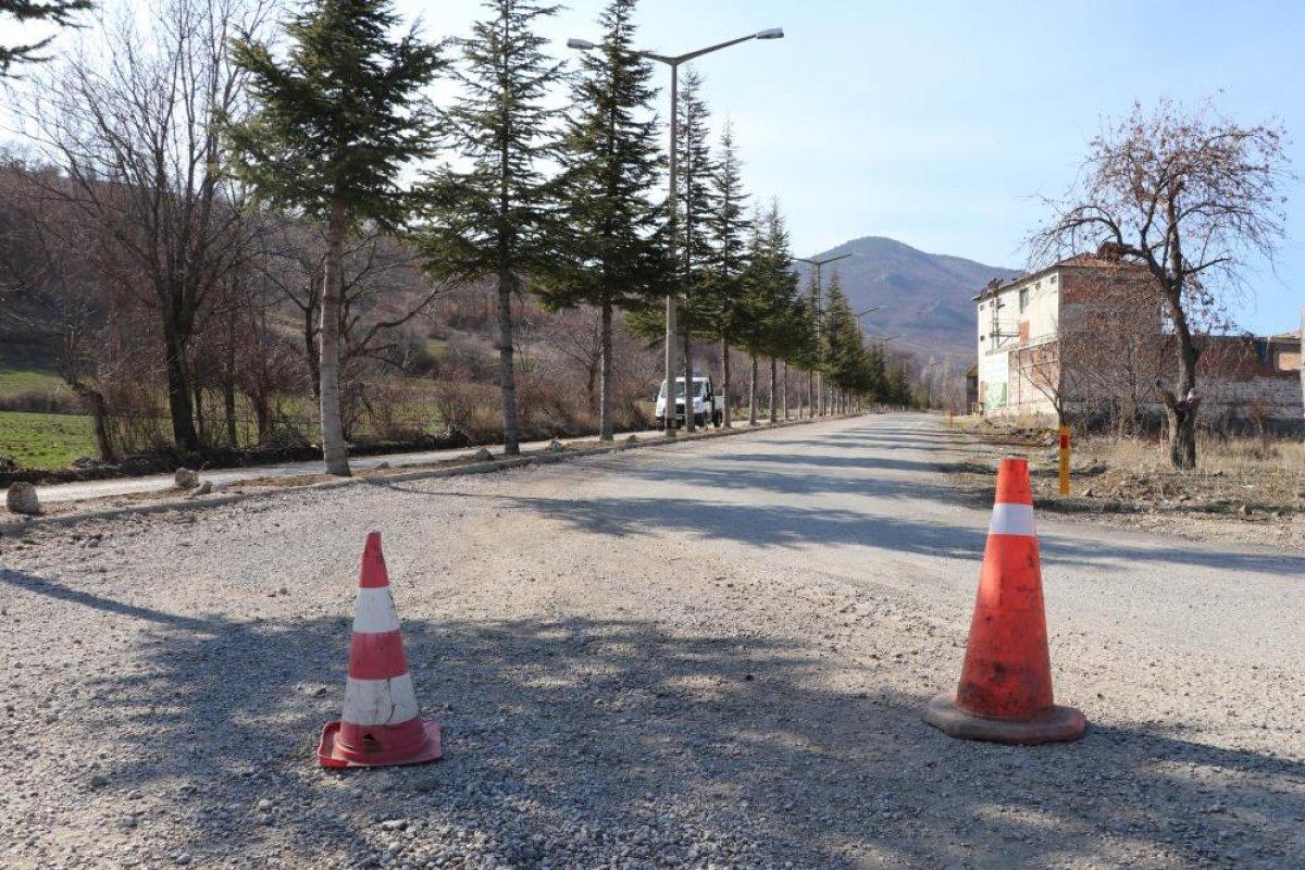 Amasya da muhtar köyünü karantinaya aldı #4