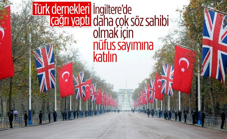 İngiltere'deki Türklere çağrı: Nüfus sayımına katılın