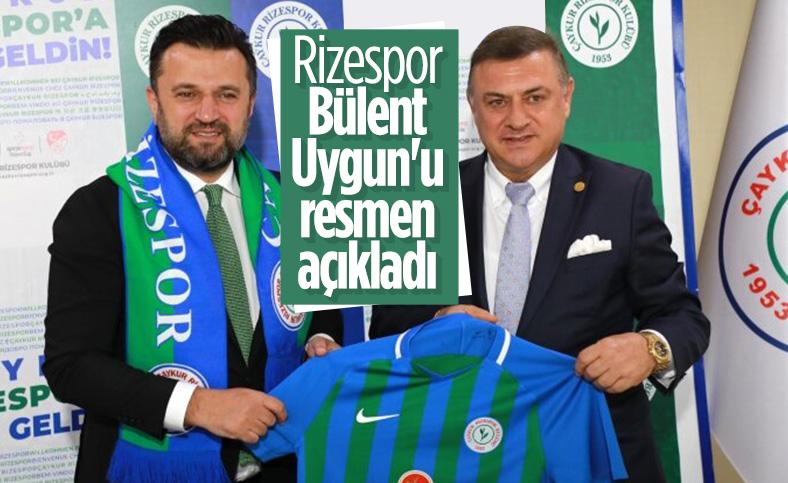 Rizespor, Bülent Uygun'u resmen açıkladı