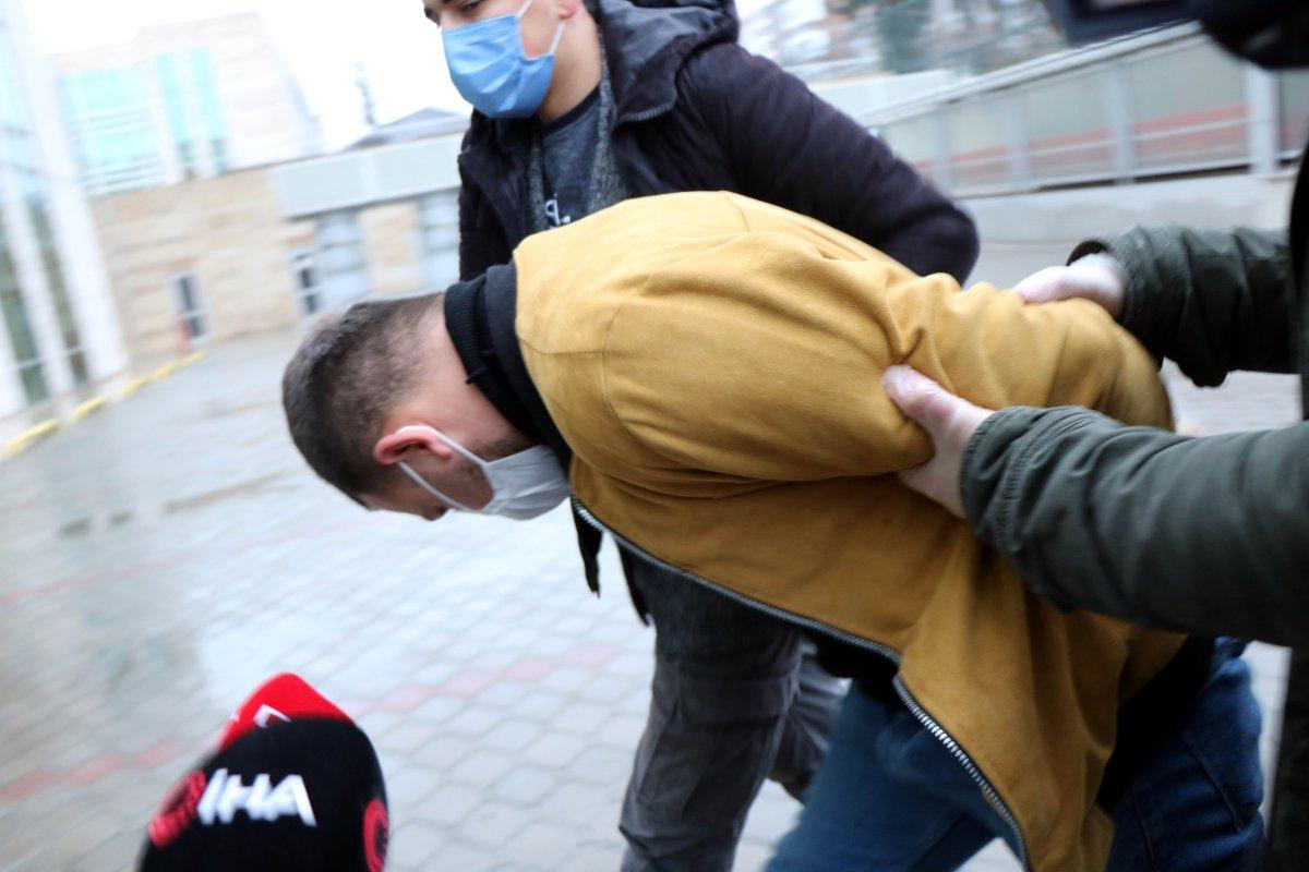 Samsun da eski eşini, çocuğunun yanında döven şahıs tutuklandı #1