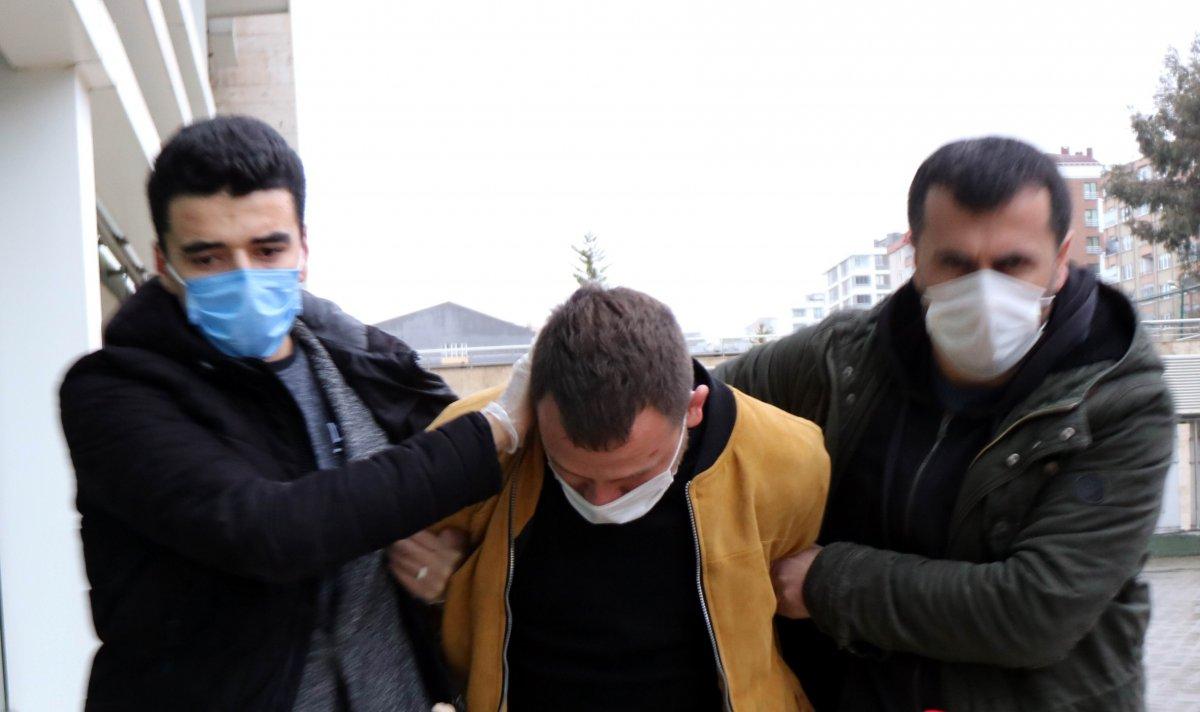Samsun da eski eşini, çocuğunun yanında döven şahıs tutuklandı #2