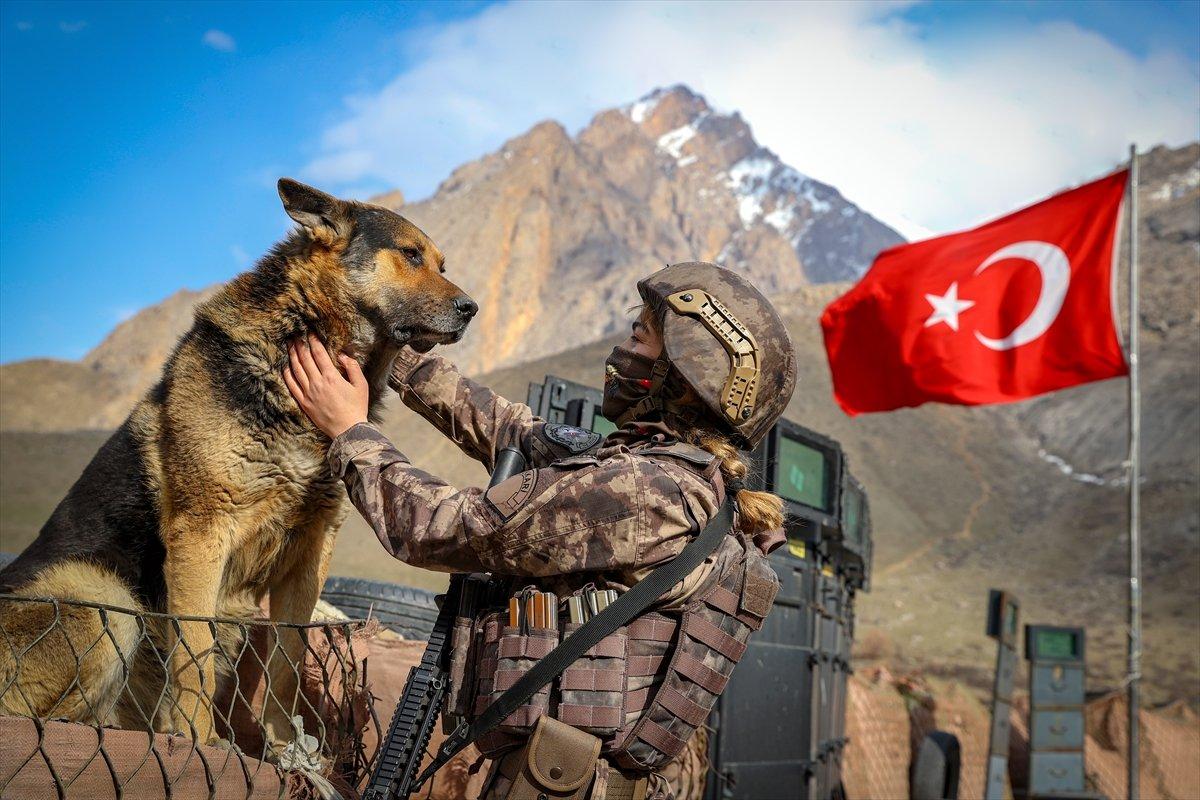 Hakkari de PKK nın korkulu rüyası: Kadın özel harekatçılar #8