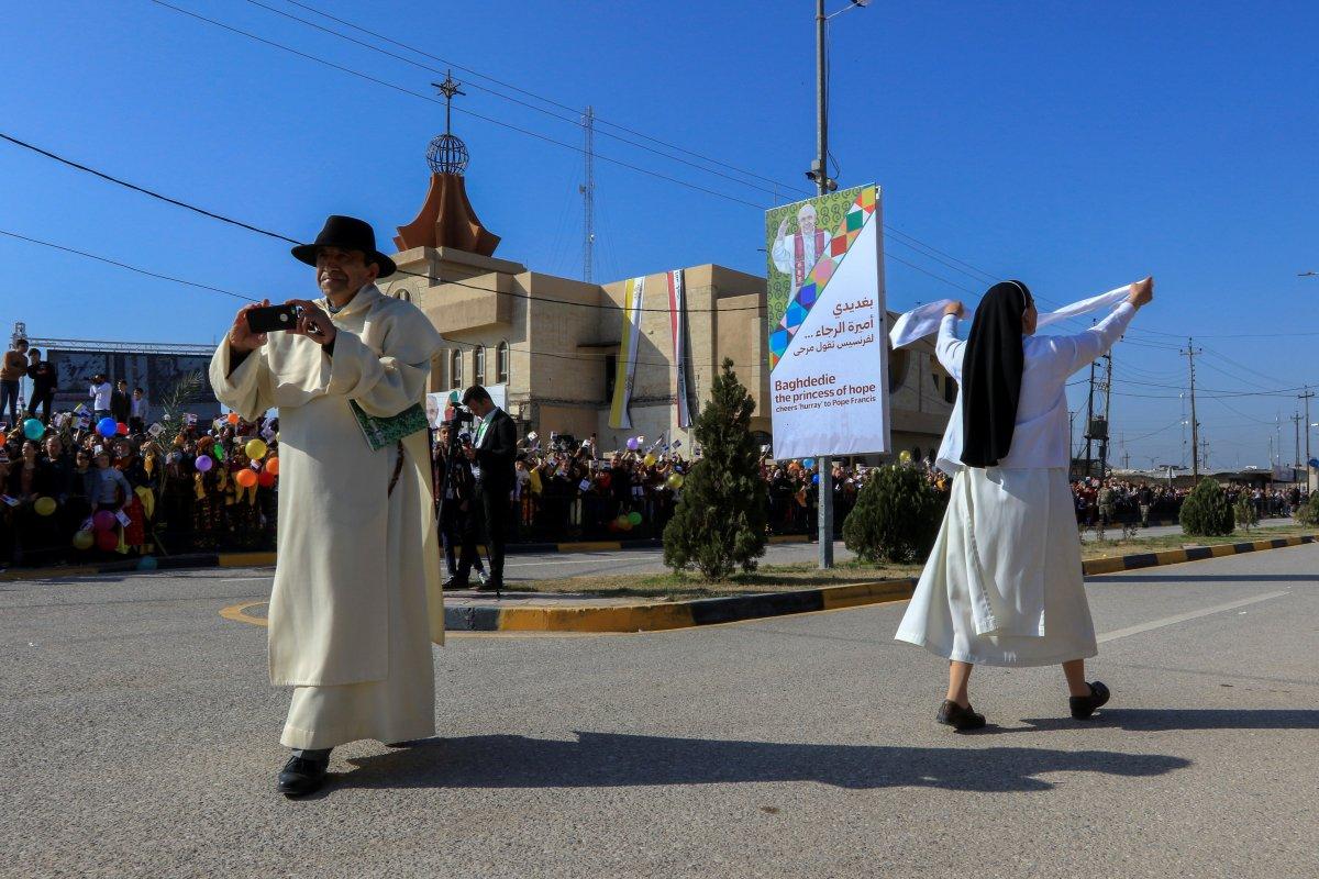Neçirvan Barzani, Papa yı karşıladı #1