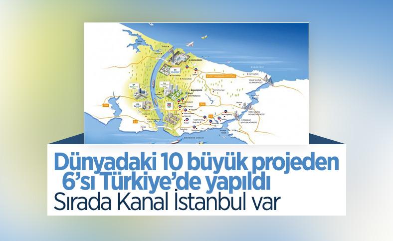 Türkiye'nin 6 projesi dünyada ilk 10'da