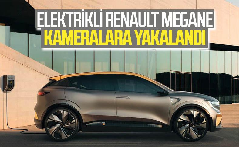 Elektrikli Renault Megane ilk kez görüntülendi