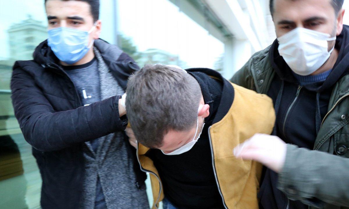 Samsun da eski eşini, çocuğunun yanında döven şahıs tutuklandı #3