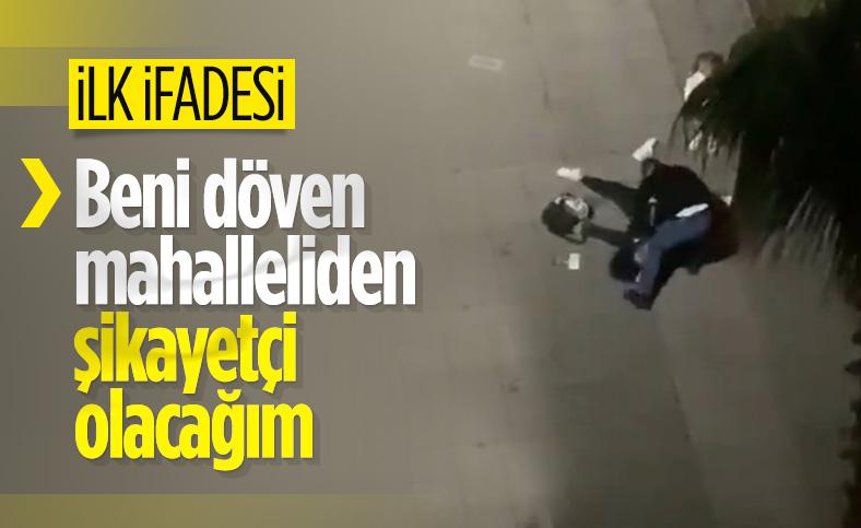 Samsun'da eski eşini, kızının yanında darbeden şahıs adliyeye çıkartıldı