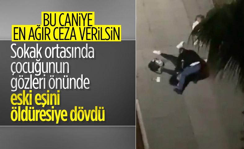 Samsun'da kadına şiddet: Çocuğunun önünde defalarca vurdu