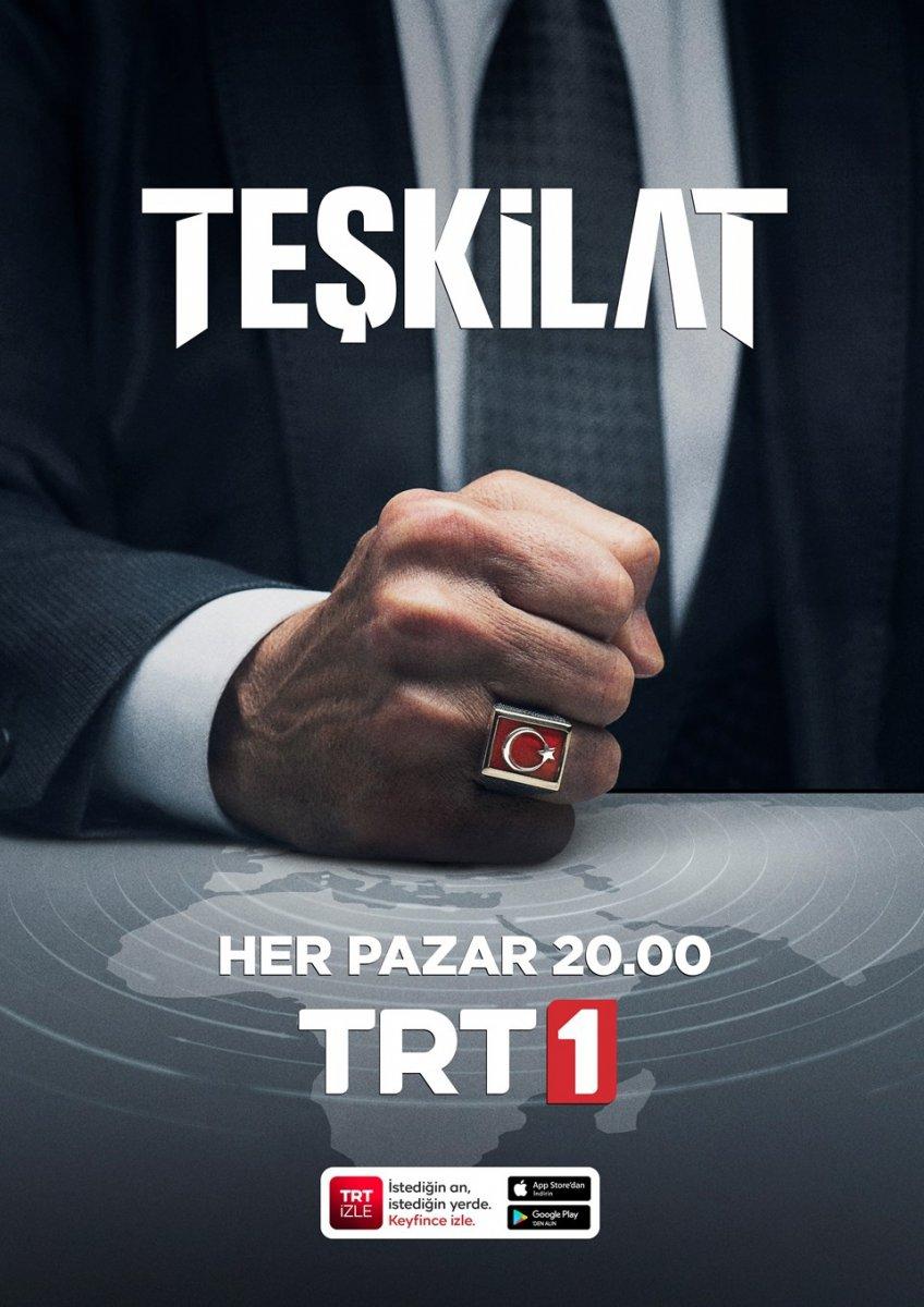 TRT nin yeni dizisi Teşkilat başlıyor #8
