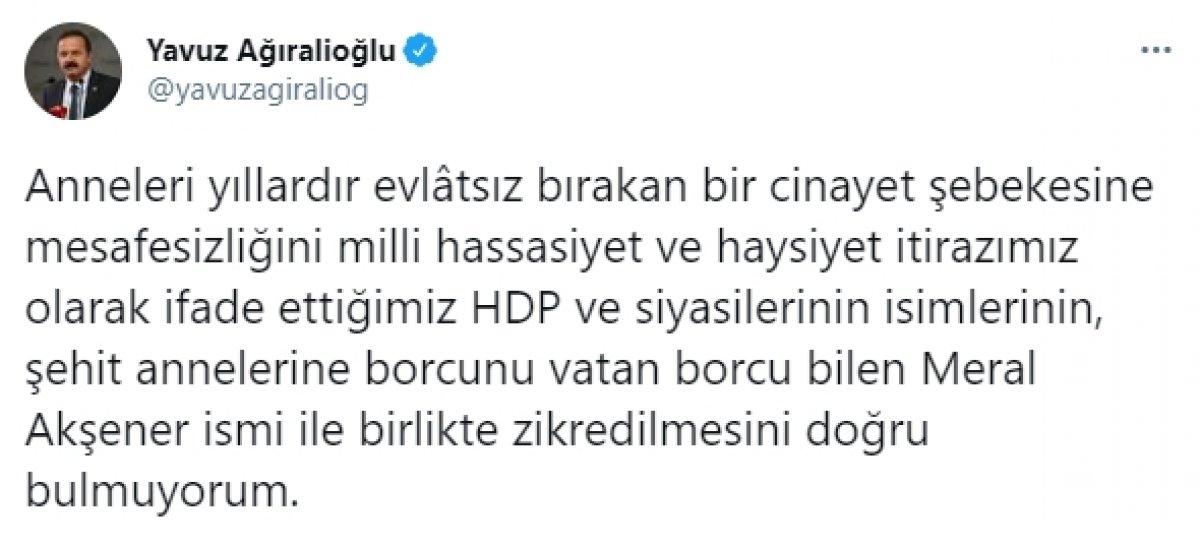 İyi Partili Yavuz Ağıralioğlu dan Ekrem İmamoğlu na tepki #2