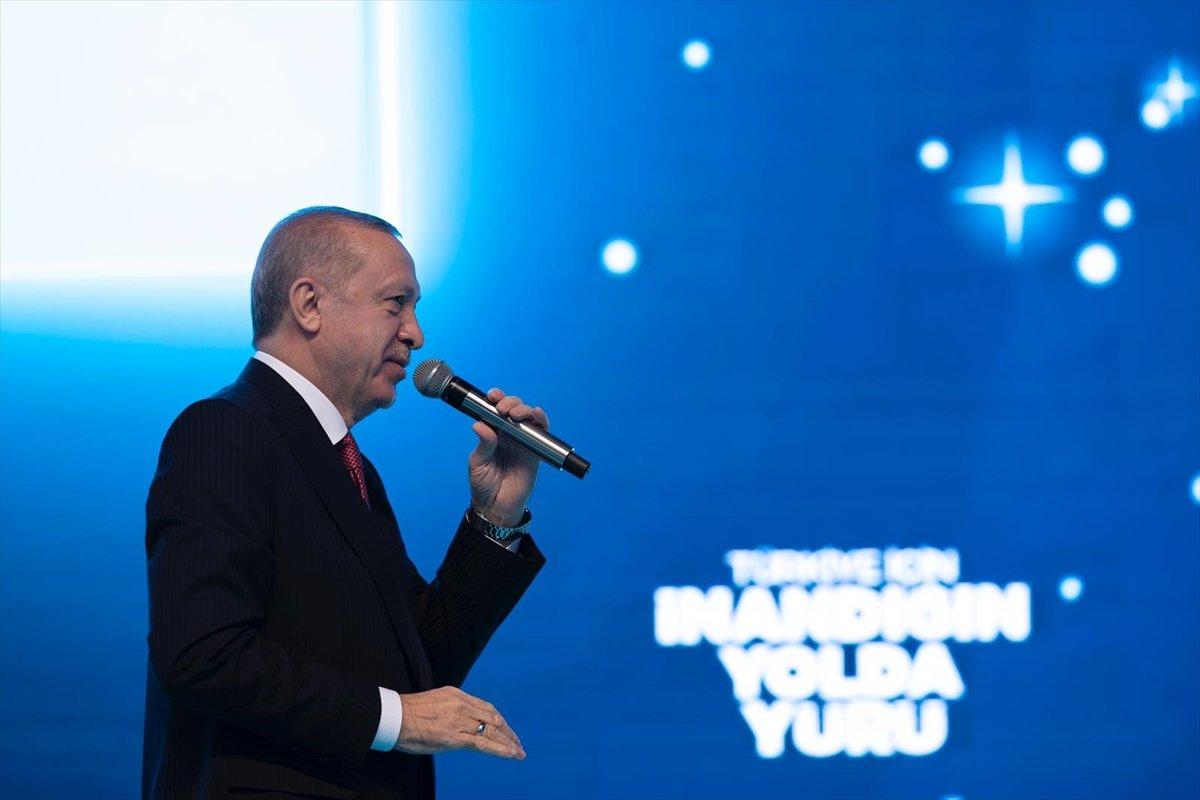 Cumhurbaşkanı Erdoğan, AK Parti Kadın Kolları Kongresi nde konuştu #1