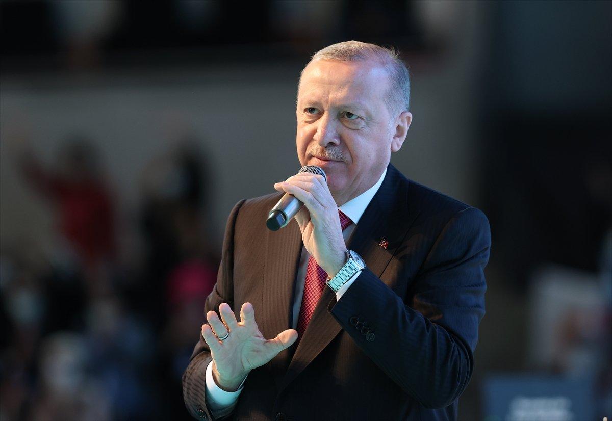Cumhurbaşkanı Erdoğan, AK Parti Kadın Kolları Kongresi nde konuştu #7