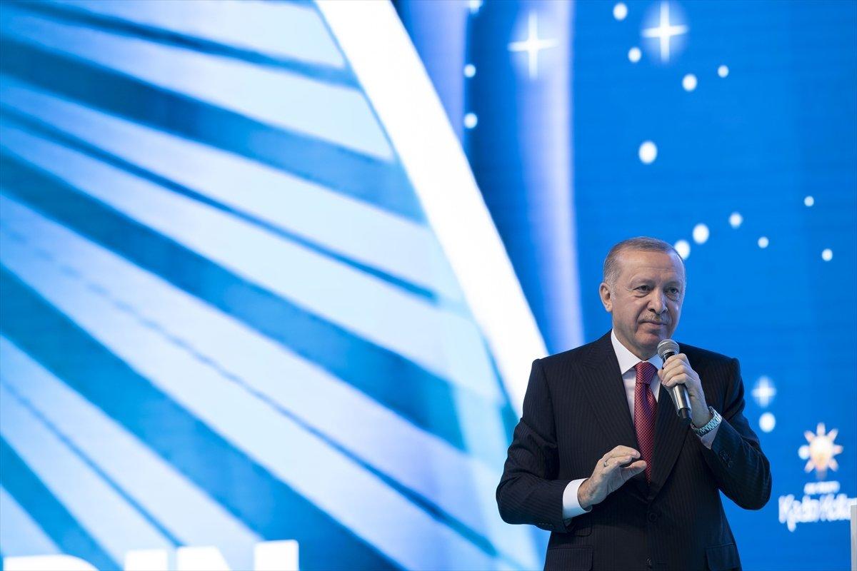 Cumhurbaşkanı Erdoğan, AK Parti Kadın Kolları Kongresi nde konuştu #12