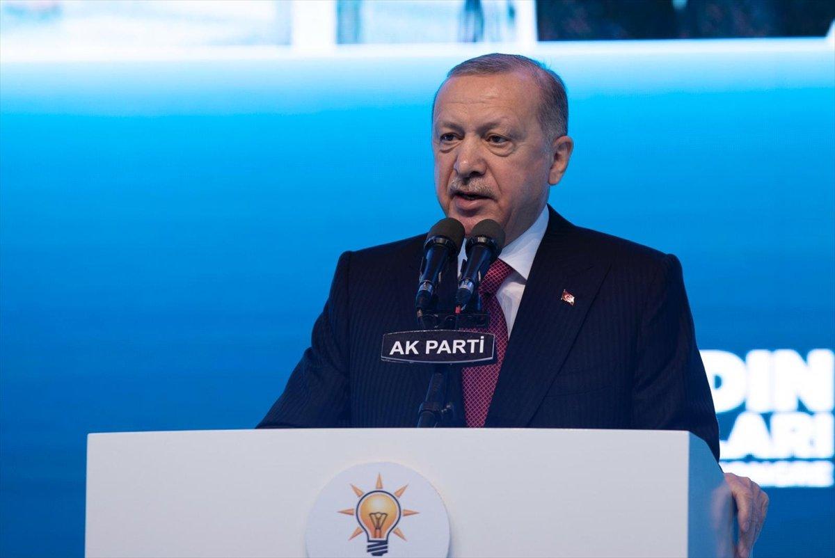 Cumhurbaşkanı Erdoğan, AK Parti Kadın Kolları Kongresi nde konuştu #2