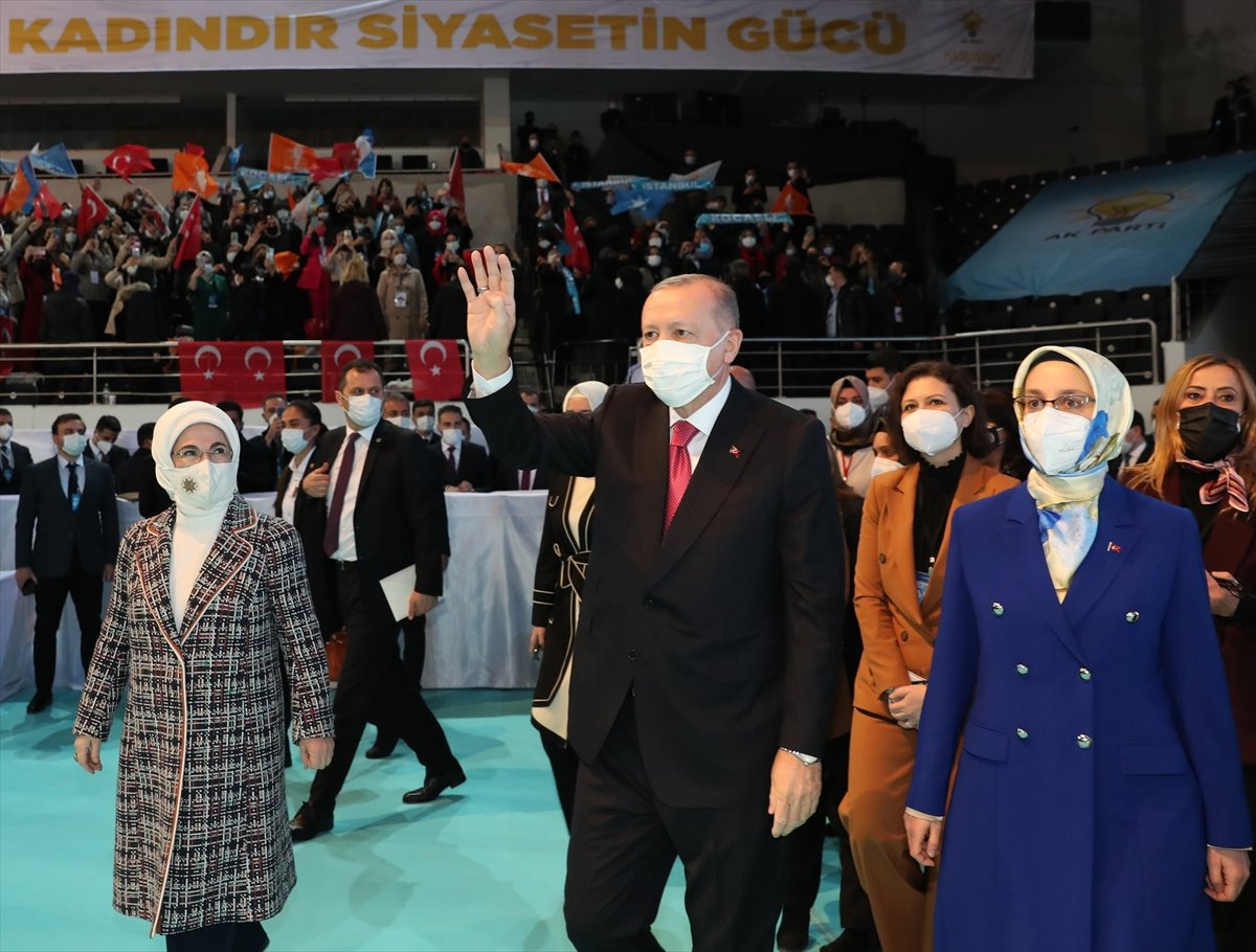 Cumhurbaşkanı Erdoğan, AK Parti Kadın Kolları Kongresi nde konuştu #4