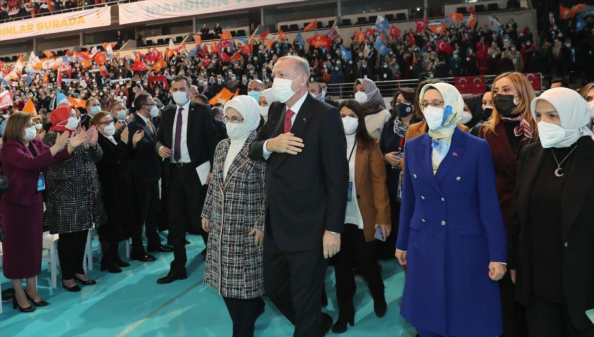 Cumhurbaşkanı Erdoğan, AK Parti Kadın Kolları Kongresi nde konuştu #5
