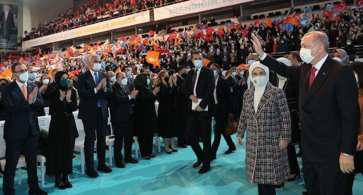 Cumhurbaşkanı Erdoğan, AK Parti Kadın Kolları Kongresi nde konuştu #6