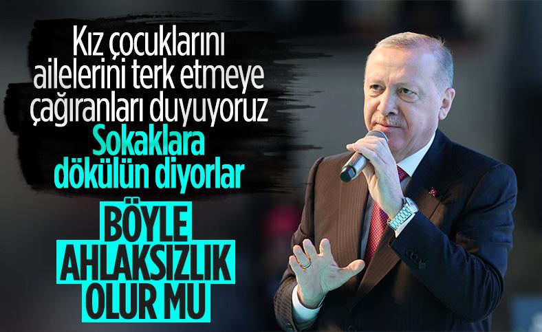 Cumhurbaşkanı Erdoğan, AK Parti Kadın Kolları Kongresi'nde konuştu