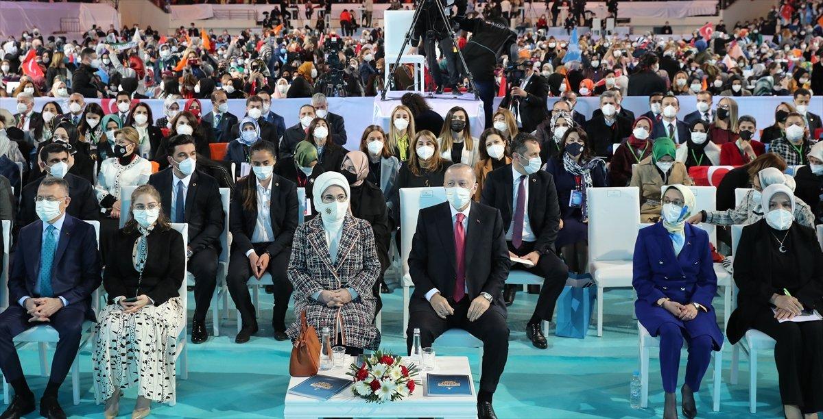 Cumhurbaşkanı Erdoğan, AK Parti Kadın Kolları Kongresi nde konuştu #3