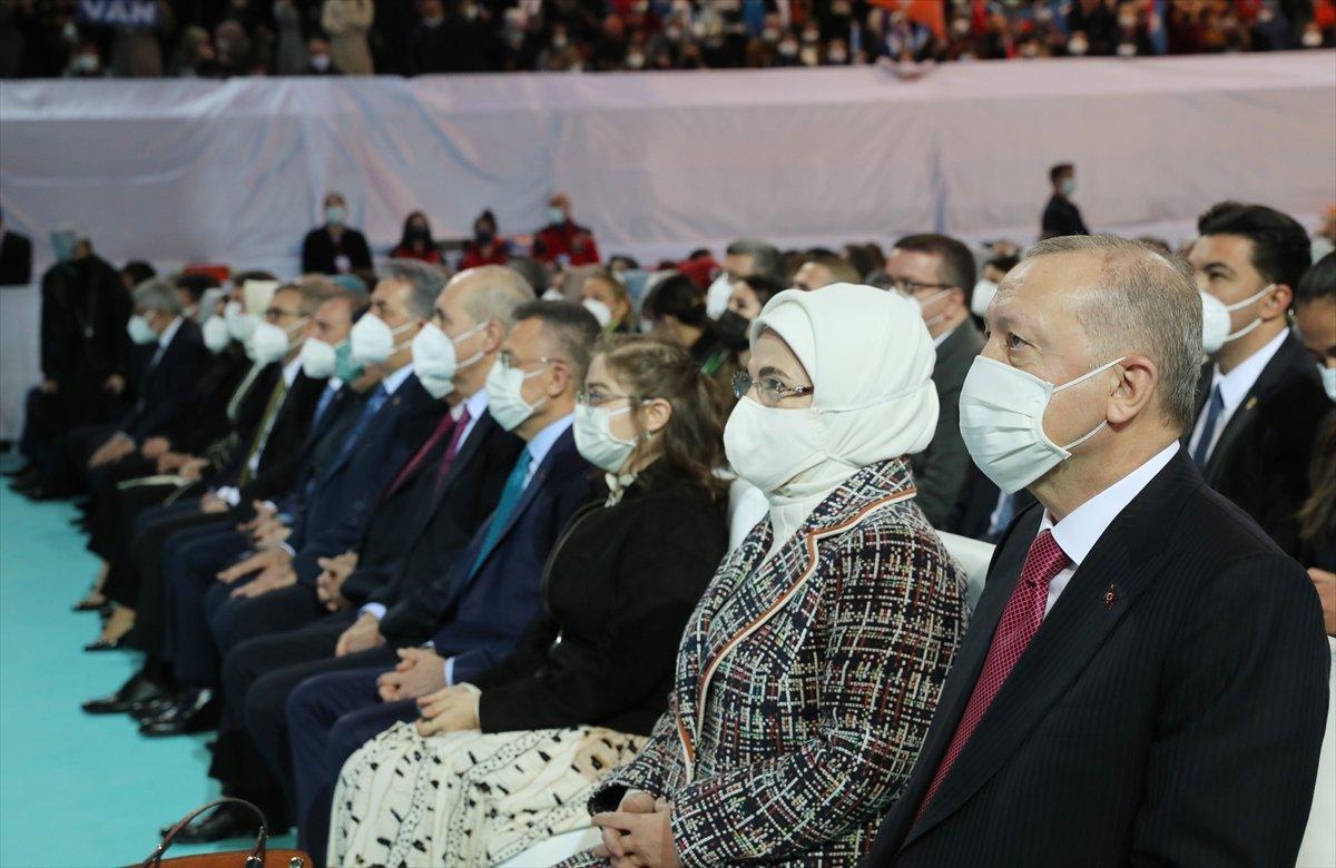 Cumhurbaşkanı Erdoğan, AK Parti Kadın Kolları Kongresi nde konuştu #8