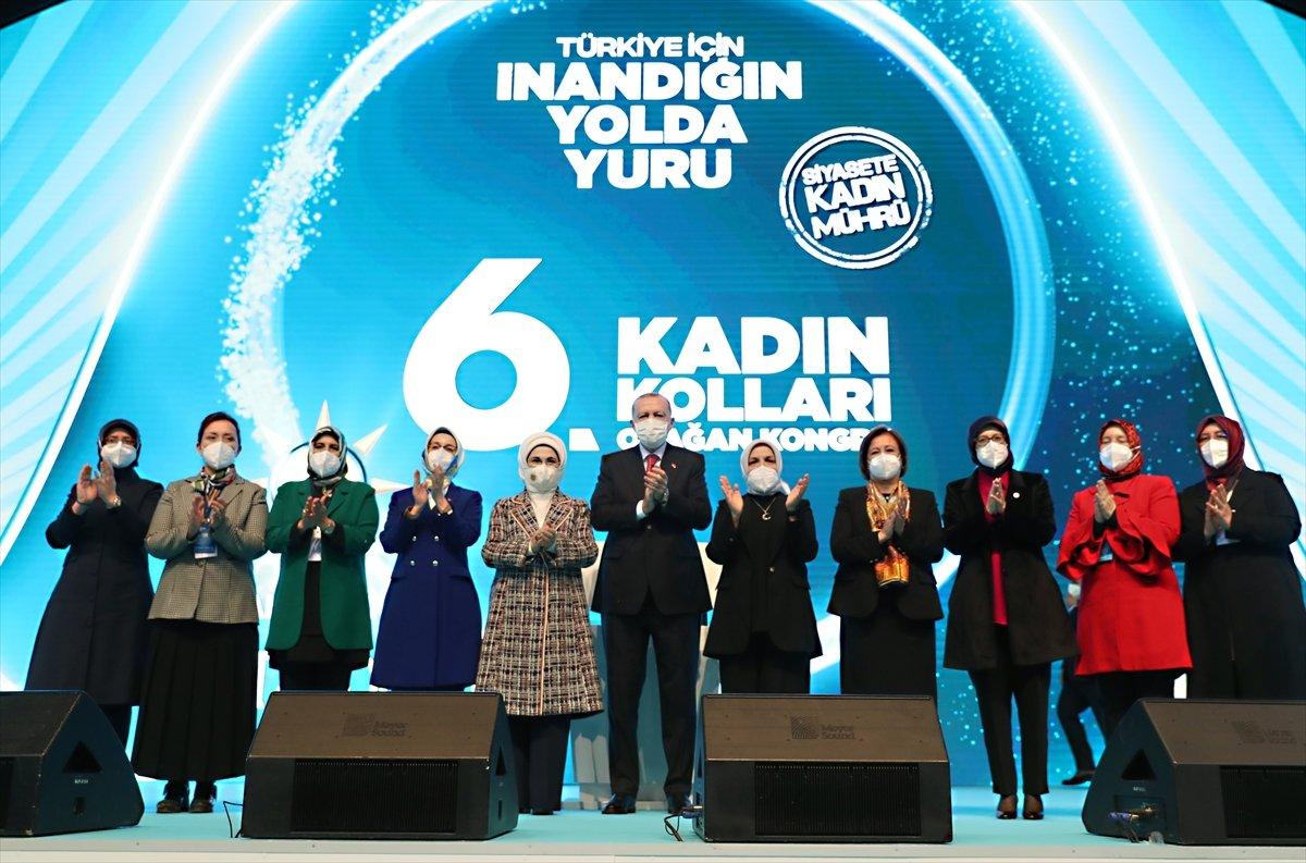 Cumhurbaşkanı Erdoğan, AK Parti Kadın Kolları Kongresi nde konuştu #13
