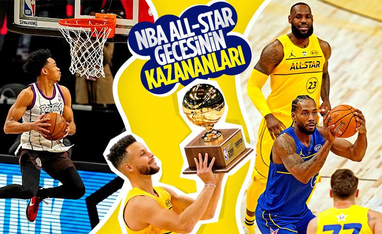 NBA All-Star 2021 maçını LeBron James'in takımı kazandı